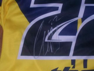 Chad Reed Signed Thor Core Premium Custom Jersey 22