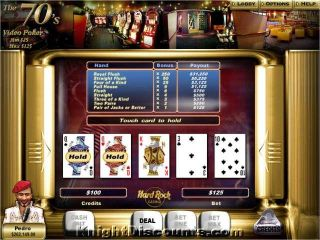 Hard Rock Casino Poker Cards Black Jack PC Game New JC 811930000000