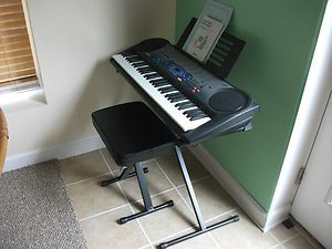 Casio LK 42 Electronic Keyboard with Folding Stand Chair