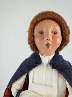 1998 Buyers Choice The Carolers Series Nurse Nursing Doll Figurine