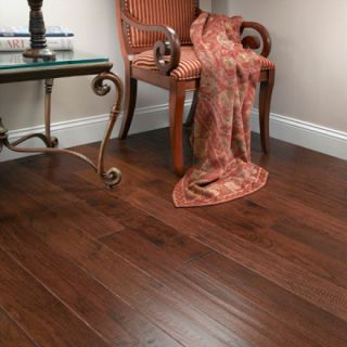 Hand Scraped Provincial Hickory Hardwood Flooring Wood Floor