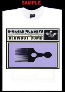 Digable Planets Blow Out Comb Custom T Shirt Tee T40