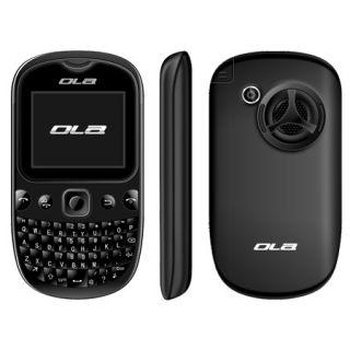QUAD BAND DUAL SIM FUN UNLOCKED OLA POP GSM TV CELL PHONE BLACK