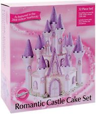 Castle Cake Decorating Set Fairy Princess Birthday Party