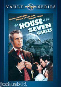 The Seven Gables George Sanders Vincent Price Margaret Lindsay