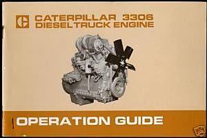 1970s Caterpillar 3306 Diesel Truck Engines Operation