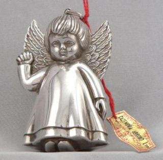 3D Angel Christmas Ornament Pendant Cazenovia Abroad Xmas