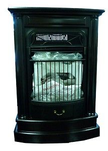 Propane Gas Heater Indoor Fireplace 25 000 BTU Excellent Cond