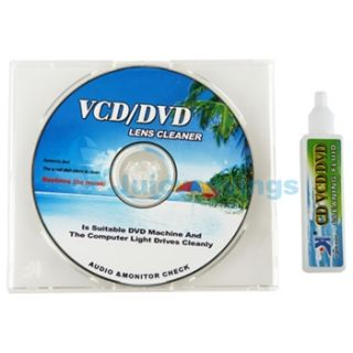 Laser Lens Cleaner Disc for CD DVD Player ROM PC Game