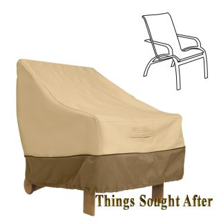 Cover for High Back Chair Outdoor Furniture Patio Deck Pool Yard