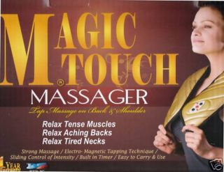 Magic Touch Back Leg Foot Shoulder Full Body Massager