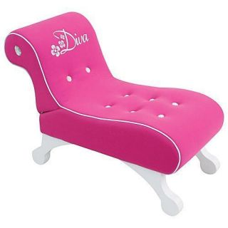little princess diva chaise lounger chair