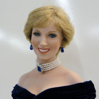 Ashton Drake Diana Princess of Wales Porcelain Doll Titus Tomescu
