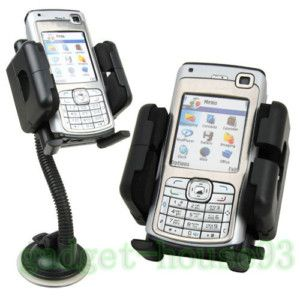 CAR MOUNT WINDSHIELD CRADLE HOLDER FOR CELL PHONE IPHONE 4G 4Gs 4S GPS