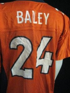Champ Bailey Denver Broncos Reebok Jersey Adult Medium Orange NFL