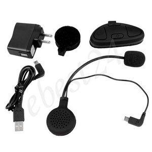 Helmet GPS Bluetooth Intercom Headset Headphones for Cell Phone