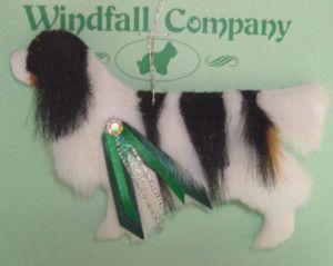 Cavalier King Charles Spaniel Dog Plush Christmas Canine Ornament WC