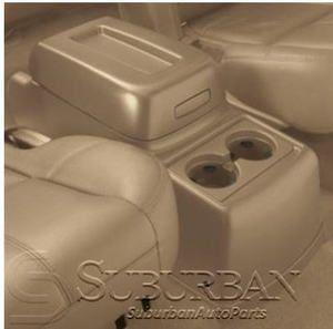 OE 7 10 Cadillac Escalade Rear Floor Cener Console an