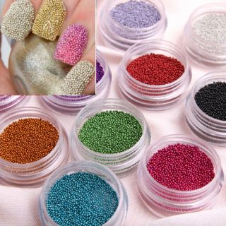 Fashion Caviar Nails Art New 12 Colors Manicures or Pedicures Nail Art