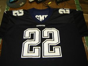 Dallas Cowboys Emmit Smith 22 Reebok Jersey Size 52