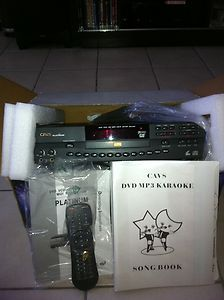 CAVS PLATINUM HDV 201 Plus DVD G VCD MIDI Karaoke Player