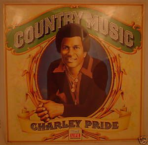 SEALED 1981 Charley Pride LP• Country Music • Time Life