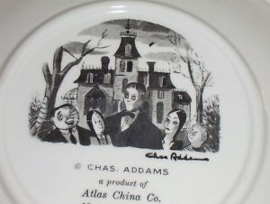 The Addams Family Collector Plate RARE Charles Addams
