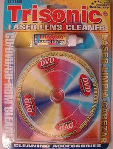 CD DVD Player Lens Cleaning Disc System Cleaner Fluid