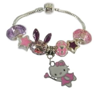 Childrens Kids Family Birthday Charm Bracelets Initial 12 Designs