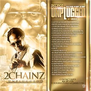 Chainz Young Jeezy Rick Ross Unplugged Gold Hip Hop Rap Mixtape