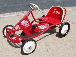 Vintage 1960s Murray Chain Drive Super Tot Rod Pedal Car