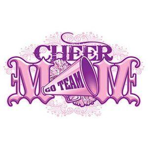 Cheerleading T Shirt Cheer Mom Pink Large White Tee Cheerleader Shirt