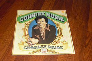Time Life Charley Pride Country Music LP Record