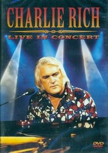 Charlie Rich Live in Concert DVD 5050725806123