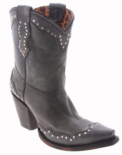 charlie 1 horse by lucchese black leather i4929 boots size womens 5 5