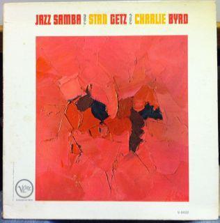 stan getz charlie byrd jazz samba label verve records format 33 rpm 12