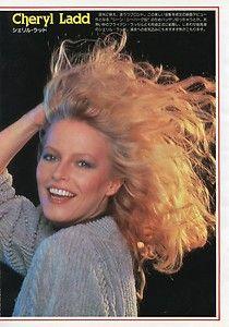 Cheryl Ladd Brooke Shields 1981 JPN Pinup 8x11 OB U