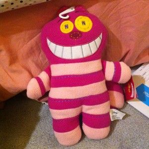 Disney Pook a Looz Cheshire Cat Plush Toy 12 NWT