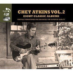 Chet Atkins EIGHT CLASSIC ALBUMS VOL 2 Remastered 93 TRACK New Sealed