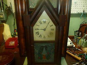 Chauncey Boardman Fusee Steeple Clock RARE