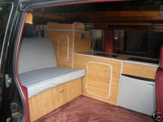 Chevrolet Astro camper Interior Conversion Surf Day Van