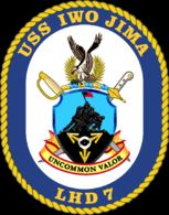 USS Iwo Jima LHD 7 United States Navy Amphibious Assault CPO Chief