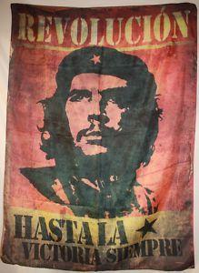 Che Guevara Hasta La Victoria Siempre Cloth Poster Flag