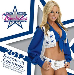 Dallas Cowboys Cheerleaders 2012 Box Calendar
