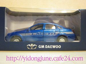 35 GM DAEWOO LACETTI CHEVROLET CRUZE BLUE LIMITED EDITION CAR