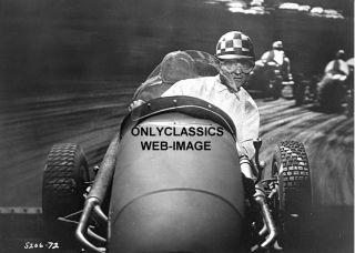 1952 Dirt Sprint Midget Race Car Driver Photo Indy 500