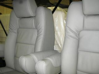 Chevy Ford Conversion Van RV Gray Leather Bucket Seats
