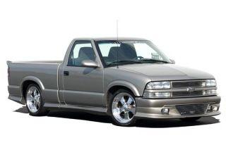 1998 2003 Chevrolet S 10 Extended Cab Custom Style Kit W/Bumper