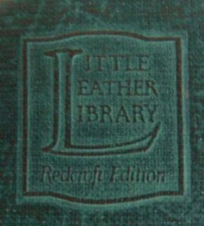 Book Little Leather Library Dream Children by Charles Lamb