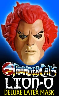 Thundercats Official Website on Official Thundercats Lion O Deluxe Latex Mask Thundercats Ho Lion O